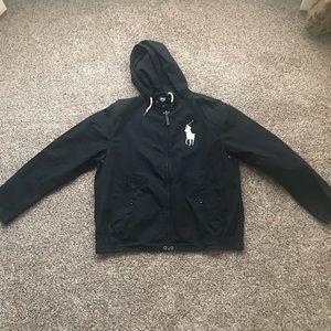 Mens polo jacket